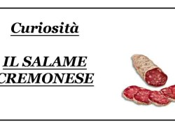 Il Salame cremonese