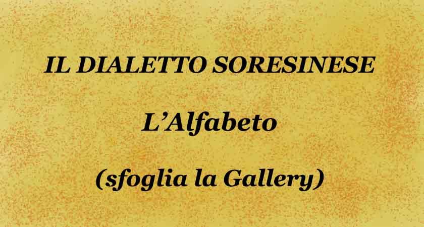 L'alfabeto del dialetto Soresinese